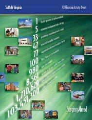 Economic Activity Report 2011 - City of Suffolk