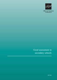 Good assessment in secondary schools - Suffolk Maths