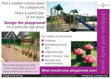 Design a Playground - Suffolk Maths