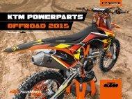 KTM POWERPARTS OFFROAD 2015