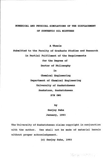 Thesis submitted for the degree of Doctor of Philosophy at