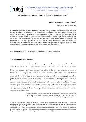 Janaina Calazans_GT 01_Completo - Curso de Música ...