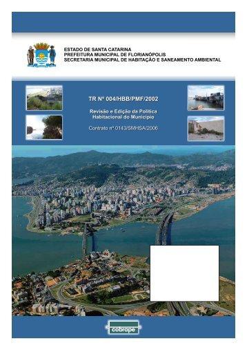 Capa TR 04 - Prefeitura Municipal de Florianópolis