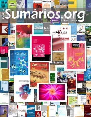 Faça download da Revista Sumários.org Ano 01 - 2011