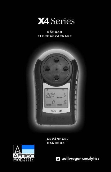 ANVÄNDAR- HANDBOK BÄRBAR FLERGASVARNARE - Afriso Ema