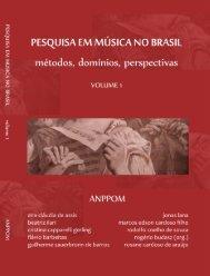 Pesquisa Em Música No Brasil: Métodos, Domínios ... - Anppom