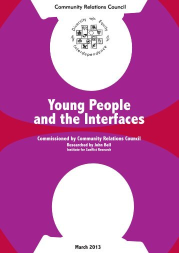 Young People and Interfaces Report - Institute for Conflict Research