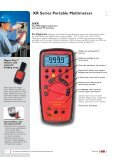 XR Series Portable Multimeters - Page 6