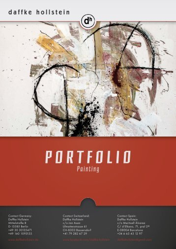 Painting-Portfolio Daffke Hollstein