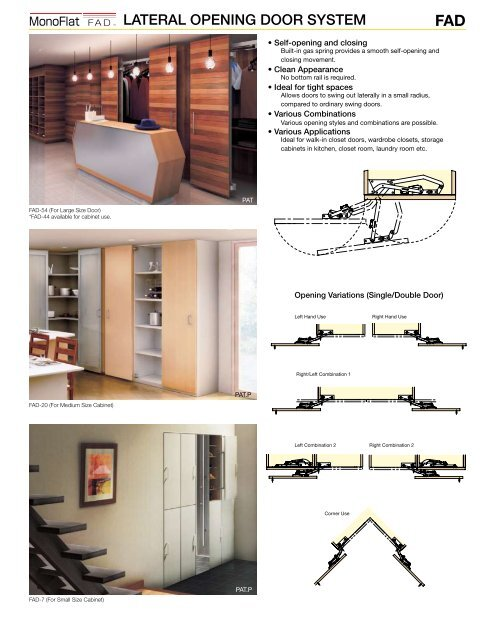 MULTIPLE MOTION DOOR SYST