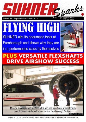 Suhner Sparks Issue No. 43 - Sep/Oct 2012 - Suhner Abrasive Expert