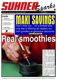 November / December 2007 - Suhner Abrasive Expert