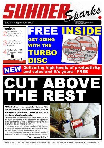 FREE INSIDE - Suhner Abrasive Expert