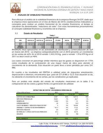 INFORME DE AUDITORIA EXTERNA DE GESTION Y RESULTADOS