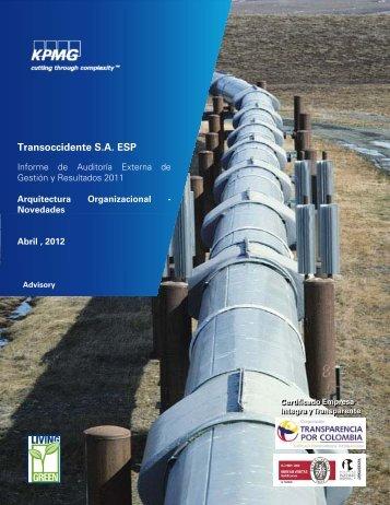 Transoccidente S.A. ESP - Sistema Unico de Informacion de ...