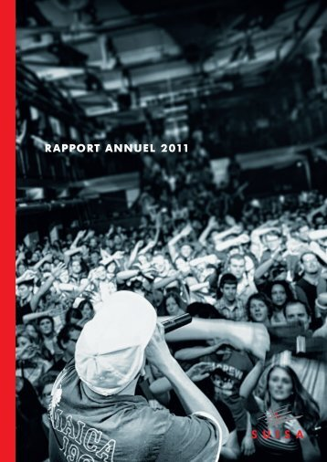 RappoRt annuel 2011 - Suisa