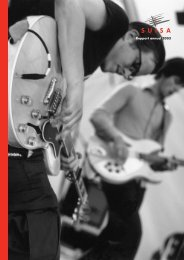 Rapport annuel 2003 - Suisa
