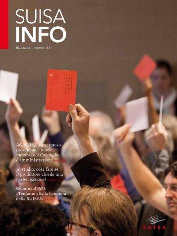 AG SUISA 2011: nuovo presidente e nuovi membri del Consiglio d ...