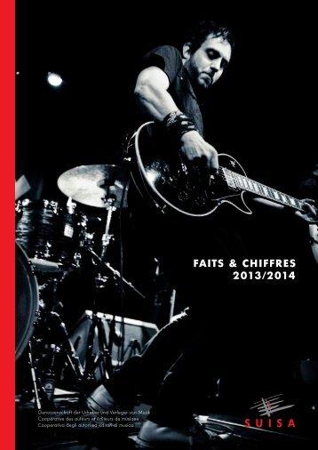 fAITS & ChIffRES 2013/2014 - Suisa