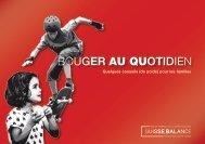 Brochure d'information Bouger au quotidien - Suisse Balance