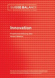 Innovation - Suisse Balance