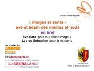 Eye Watch - Eva Saro - Suisse Balance