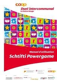 Schtifti Powergame - Suisse Balance