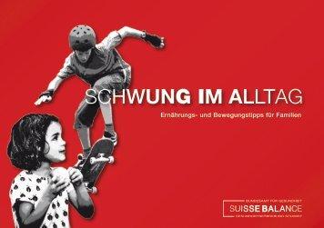 SCHWUNG IM ALLTAG - Bundesamt für Gesundheit - admin.ch
