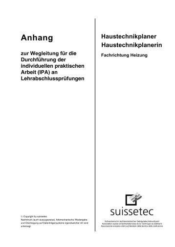 dichtheitspr fung von heizungs und suissetec. Black Bedroom Furniture Sets. Home Design Ideas