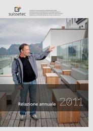 Relazione annuale 2011 - Suissetec