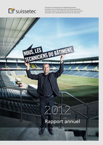 Rapport annuel suissetec 2012