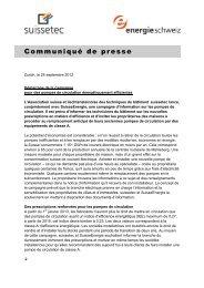 Campagne circulateurs 223 KB pdf - Suissetec