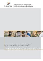 Descrizione mestiere Lattoniere/a AFC - Suissetec