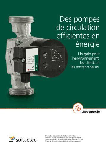 notice technique pour installateurs 1.47 MB pdf - Suissetec