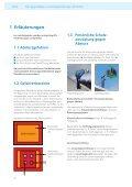 Planungsgrundlagen von Anschlageinrichtungen auf ... - Suissetec - Seite 4