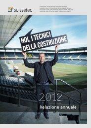 Relazione annuale 2012 - Suissetec