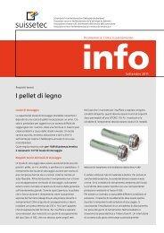 Pellet di legno 713 KB pdf - Suissetec