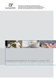 Descrizione mestiere Installatore/trice di impianti sanitari ... - Suissetec