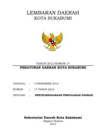 PEMUNGUTAN PAJAK - Pemerintah Kota Sukabumi