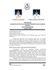 (ILPPD) KOTA SUKABUMI TAHUN 2010 - Pemerintah Kota Sukabumi