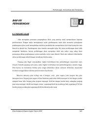 BAB VIII PERHUBUNGAN - Pemerintah Kota Sukabumi