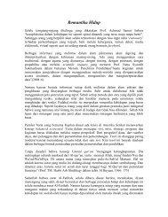 Romantika Hidup - Pemerintah Kota Sukabumi