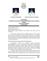 (ILPPD) KOTA SUKABUMI TAHUN 2011 - Pemerintah Kota Sukabumi