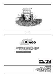 2 - Sulky Burel