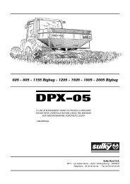 DPX-05 - Sulky Burel