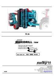 Maxidrill TRW 6 m - Sulky Burel