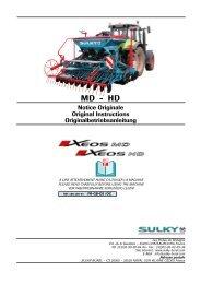 XEOS HD - Sulky Burel