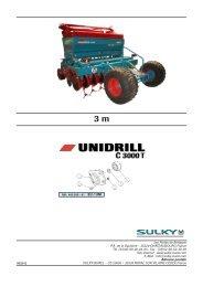 400290-UNIDRILL C3000T - Sulky Burel