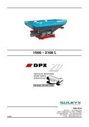 dpx 70 years - Sulky Burel