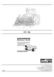 Master - Sulky Burel